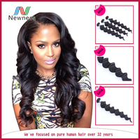 wholesale price little girls ponytail human hair extensions for black women