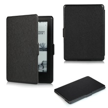 Ultra Thin PU Leather Flip Smart Cover Case For Amazon New Kindle 2016