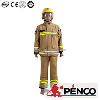 Custom different types of uniforms kevlar fabric fire fighting uniform