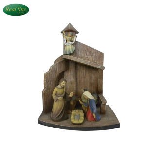 Resin Saint Family Religious Crafts Figurine For Decoration