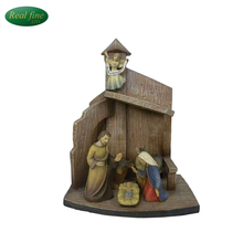 Resin Saint Family Religous Crafts Figure For Decoration