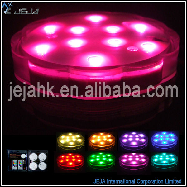 multicolour led lighting fish farm tank