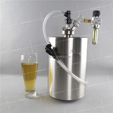 5L mini keg tap dispenser include spear for party