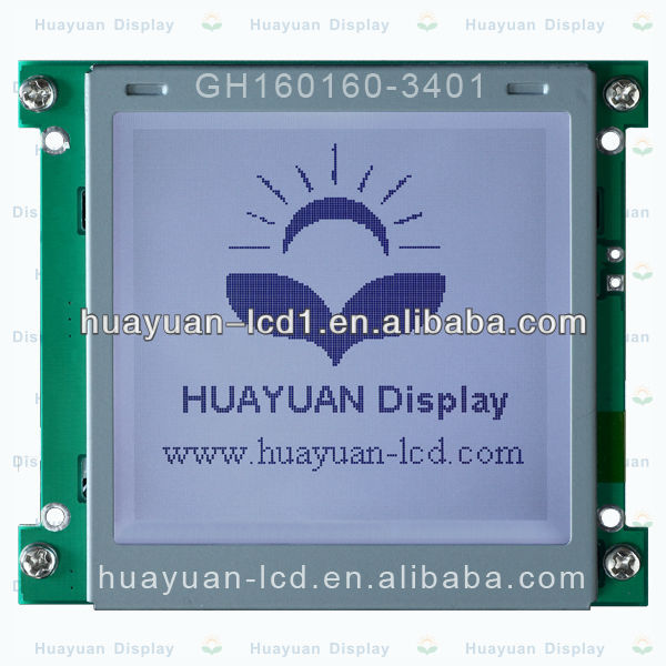 COG Graphic lcd screen module STN GH160160-3401 for Constant Current Discharger