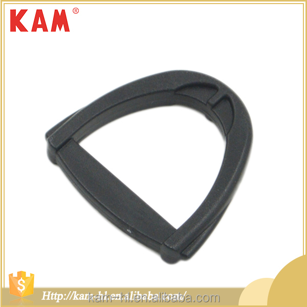 Fashion design bag accessories adjustable plastic buckle manufacturers