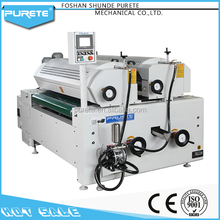 High quality silicone double roller coater glass coating machine