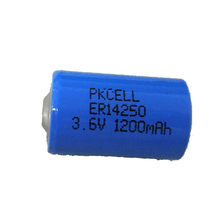low self-discharge er14505h 3.6v lithium battery aa er14505 er14250 1/2 no.5 battery