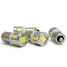ba9s 5 smd 5050 led car interior bulbs wedge lamp car indicators light
