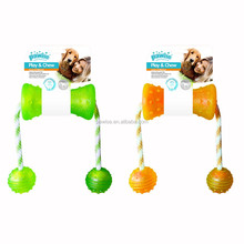DOG TPR TOY play & chew dumbbell