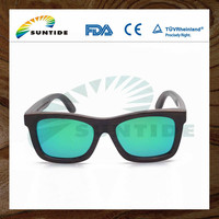 Manufacture suntide company hand-made bamboo and wood sunglasses