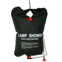 20L douche outdoor camping solar hot water shower bag