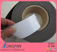 construction application rubber flexible magnet strip with adhesive