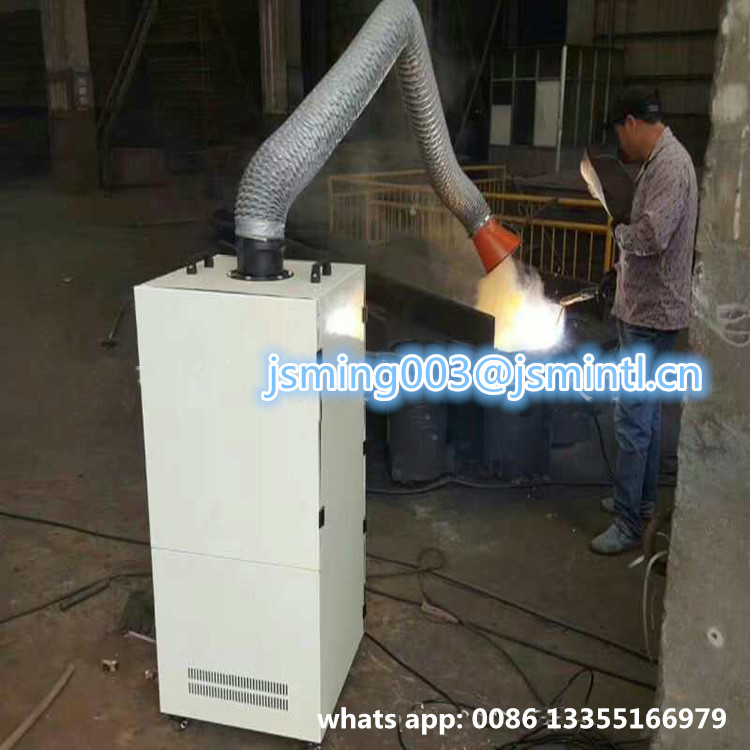 Industrial Smoke Fume Extraction Machine with Flexible Suction Arm
