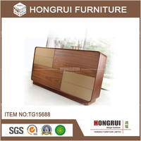2016 hongrui modern dining/kitchen cabinet/antique cabinet, wooden drawer sideboard