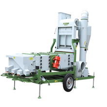 Small agriculture machinery grain screen cleaners