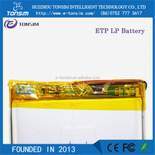 High quality Battery powered rechargeable battery pack for portable dvd player