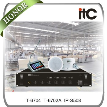 ITC spearkers ceiling mounted ip speaker,public address speaker ceiling with amplifier