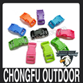 "1/2"" Colorful Contoured Curved Plastic Buckles for paracord bracelets wholesale alibaba"