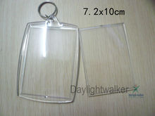 Cheapest Blank custom Acrylic ring key chain