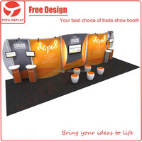Custom 3X9m trade show portable and modular display booth in Shanghai