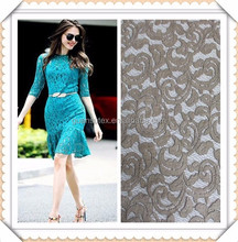 hot sale wholesale african cord lace fabric for ladies suits