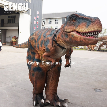 Amusement Park Attractive Dinosaur Costume T Rex