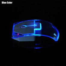 Silent Transparent LED wireless mouse Ultra-thin 1000DPI Gaming Mice 2.4G Wireless Mouse for Laptop