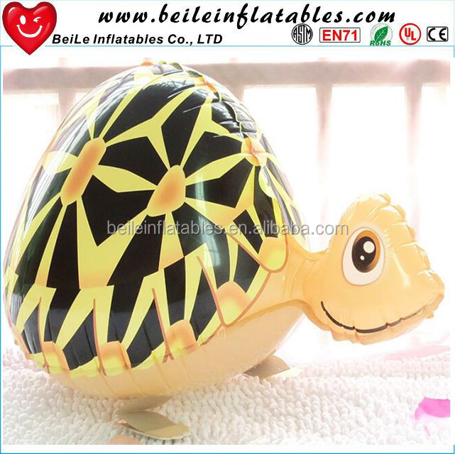 Customized inflatable tortoise character model and Lovely Inflatable Tortoise Cartoon to kids for fun
