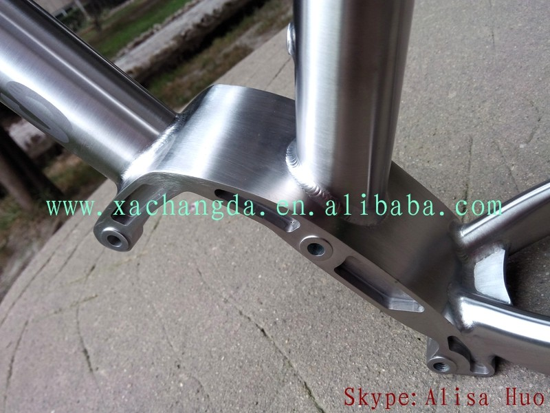 Titanium pinion gearbox Frame mtb bike titanium bosch motor bracket bike frame titanium e-bike frame with gearbox