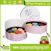 low price round candy paper box with iso and bv certificate