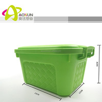 Plastic container PP storage box