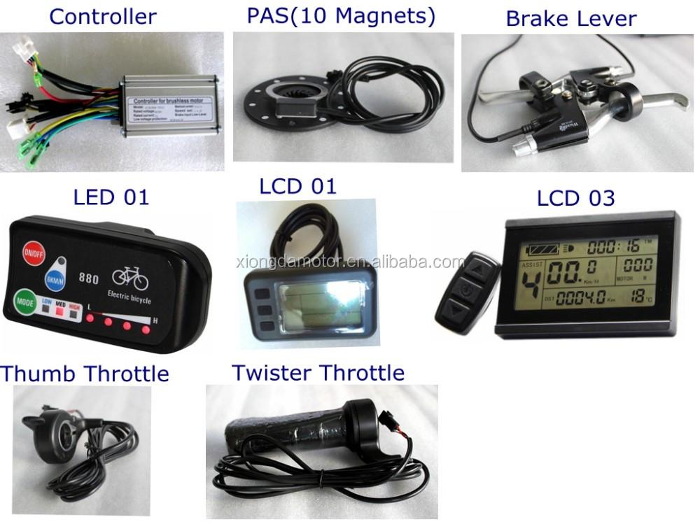 36V 250W 48V 300W electric bicycle motor conversion kit/electric bike wheel kit