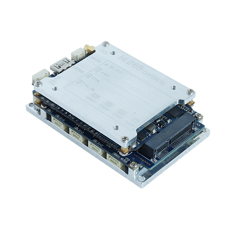 microwave UHF RF H.265 PCB module for wireless communication