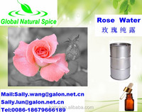 Low price rose water globe for face,rose water raw material supplier