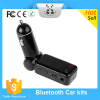 New Wireless MP3 Player FM Transmitter With Usb Dual Car Charger Wireless Stereo Audio Music Receiver Bluetooth HandsfreeCar kit