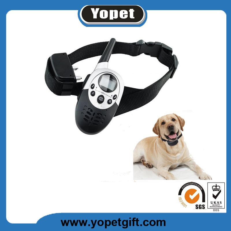 Electric Anti- Bark Training Collar Safely Stop Dog Shock Collar