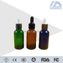 HDMED different types of glass dropper pipette