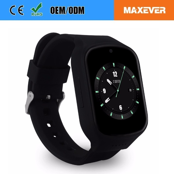 MTK6580 Heart Rate 3G GPS WiFi Smart Watch Android 5.1