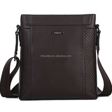 Fashion shoulder messenger bags men's wholesale leather briefcases