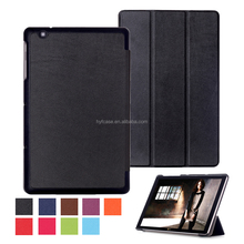 Shenzhen Factory manufacture Business design tri fold 10.1 tablet Cover Leather Case for LG G Pad 2 II 10.1 V940