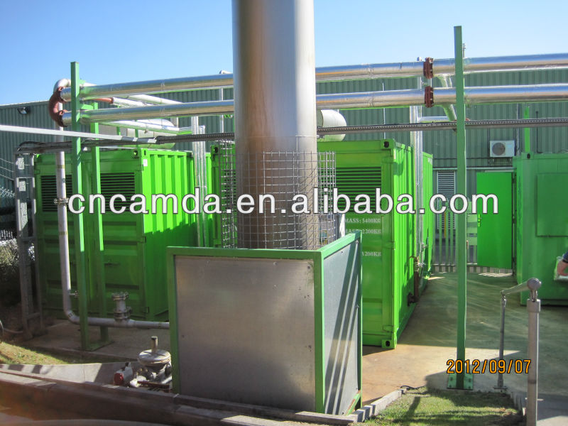 New Energy Waste Management Biogas Power Plant From 20KW To 500KW