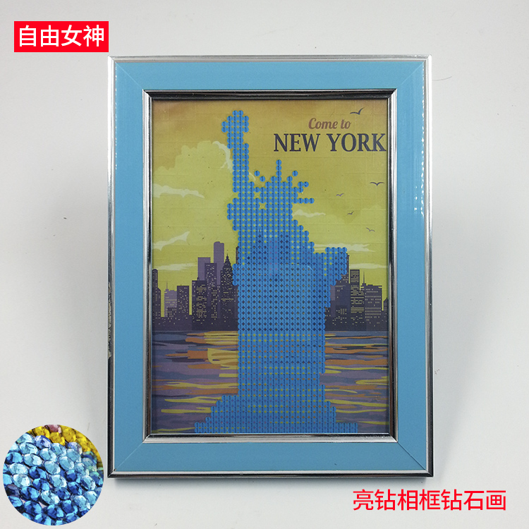 Statue of Liberty Russian-European new design diy paint by numbers chinese painting