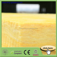 Yellow Insulation Fiber Glass Wool Board/Sheet