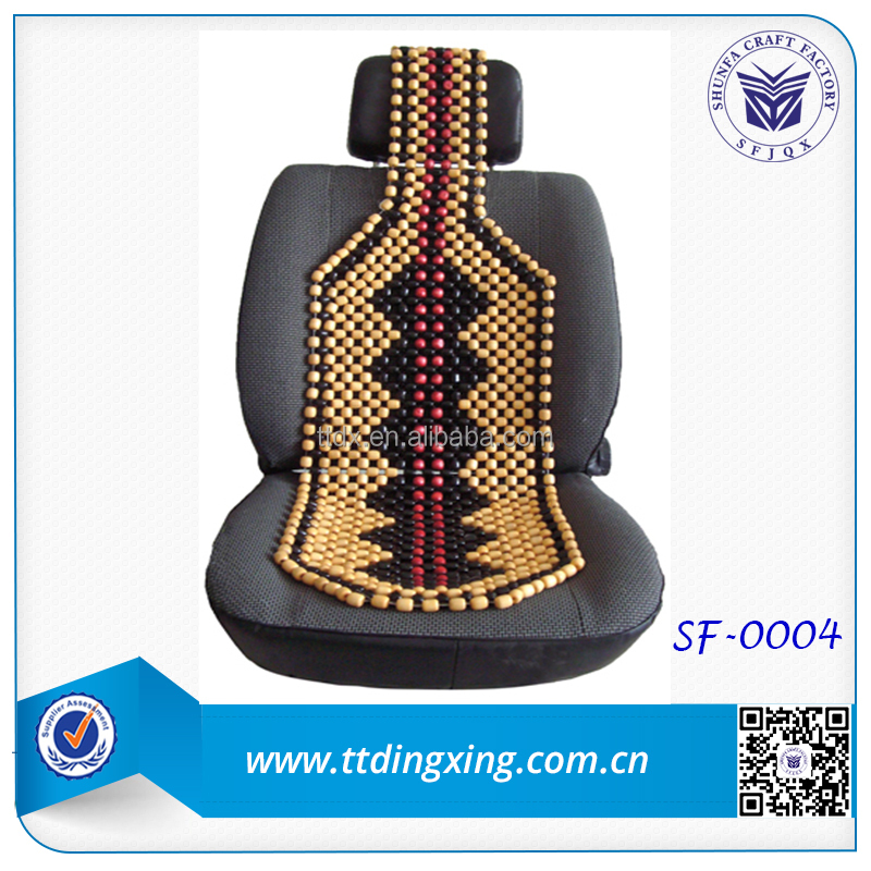 2014 new design Colorful Wooden beads car seat cushion from China