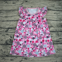 China supplier cheap in bulk top 100 child model imported children's clothing party dresses for girls