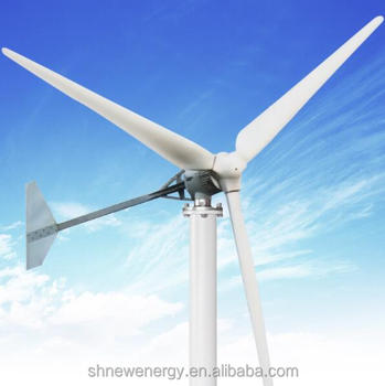Good quality HAWT G Type 3KW wind turbine for residential used