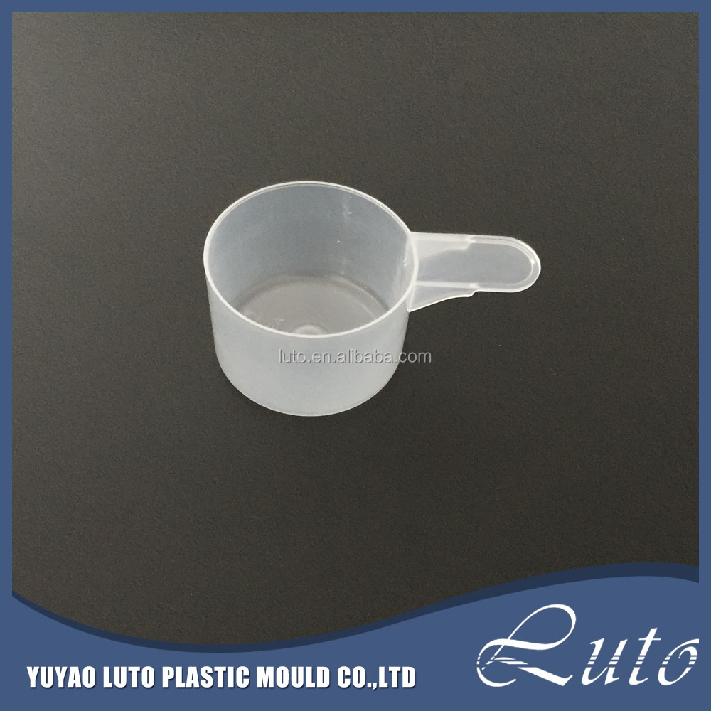 kitchen utensil 90ml disposable water plastic measuring scoop