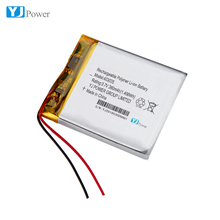 403035 3.7v 380mAh rechargeable lithium polymer battery for medical device