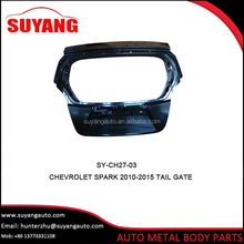 Hot sale steel tail gate for Chevrolet matiz auto body parts