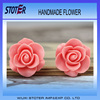 Pink resin flower bulk resin flower bulk artificial flowers st3073